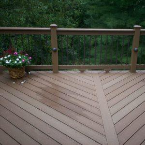 Small Deck Ideas: Visual Interest