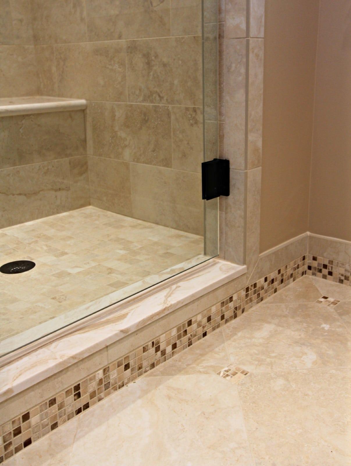 Baseboard Style Tile Wall