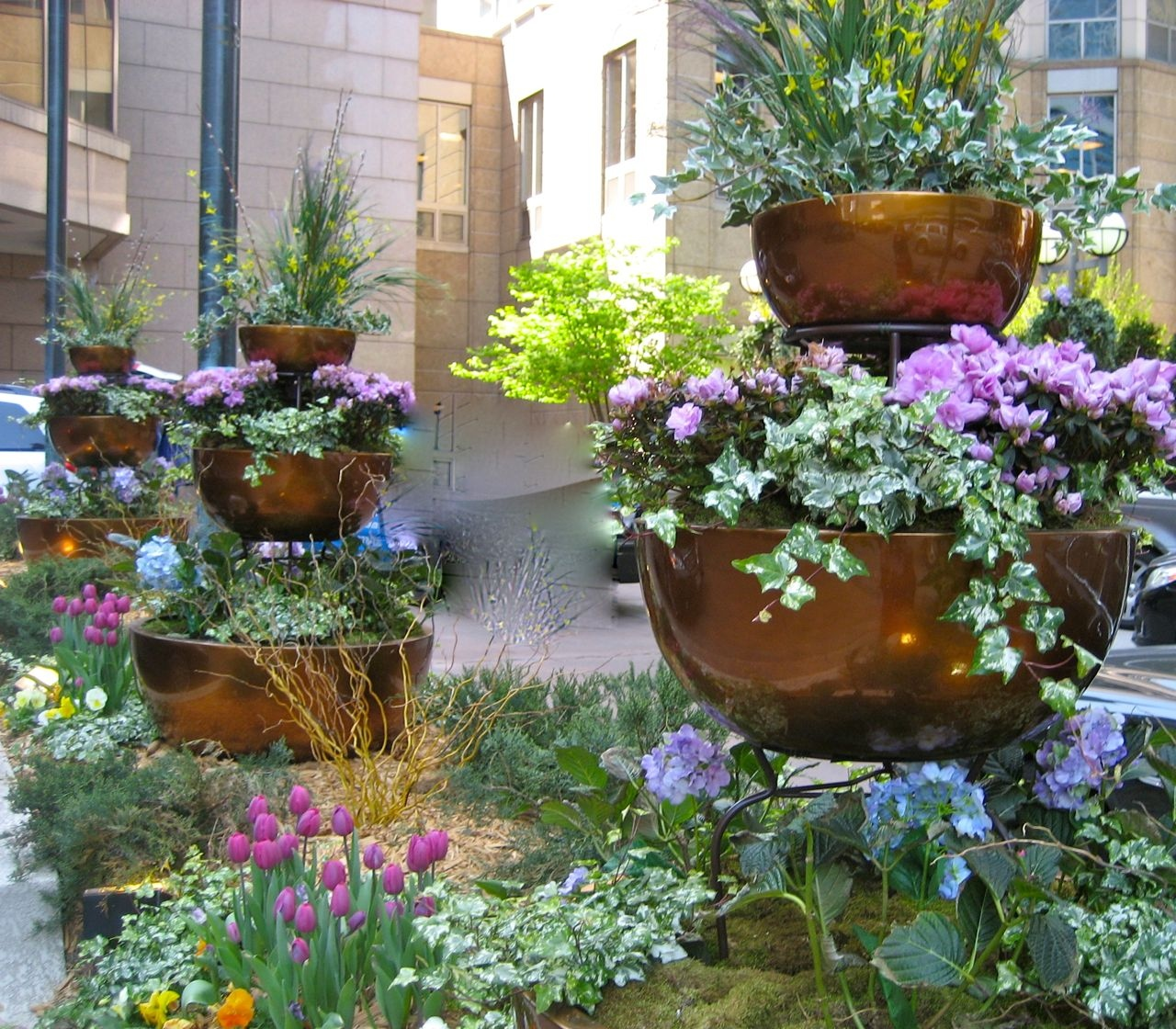 small flower pot ideas Awesome flower pot garden ideas Flower Garden Ideas for Small