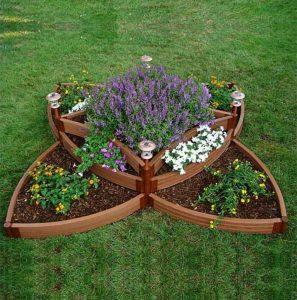 DIY Raised Flower Bed