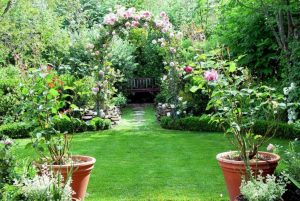 Romantic Flower Garden