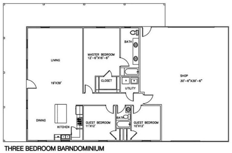 barndominium floor plans prices
