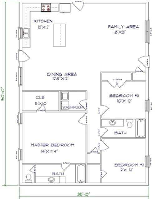 barndominium floor plans south carolina