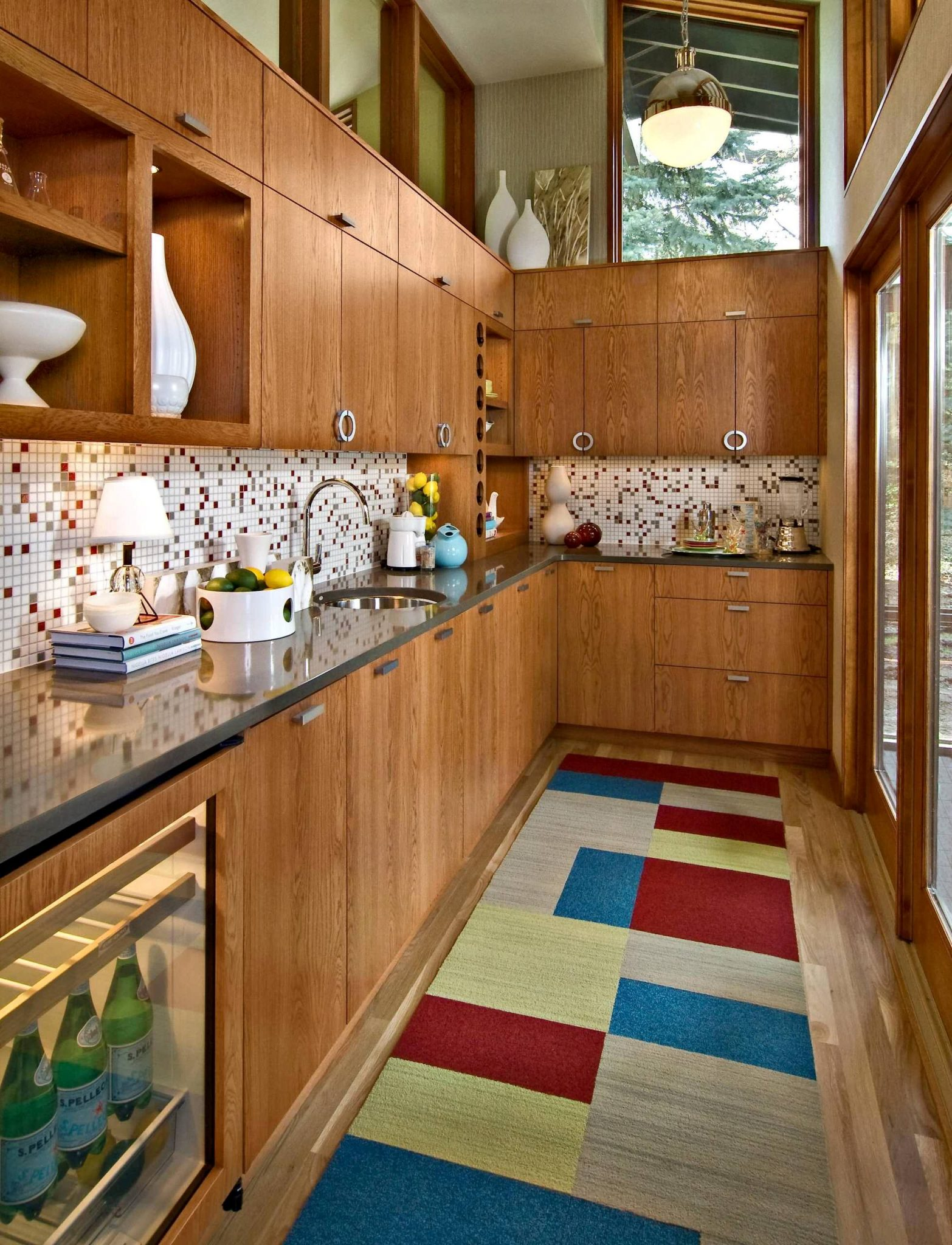 area rug kitchen dining