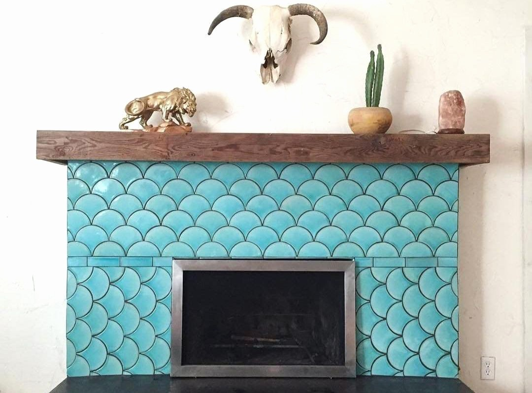 gas fireplace tile design ideas