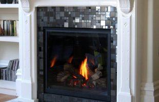 contemporary fireplace tile design ideas