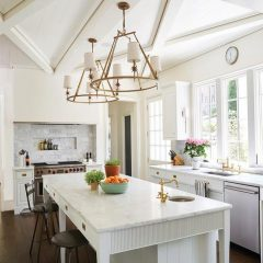 kitchen lighting ideas tray ceiling