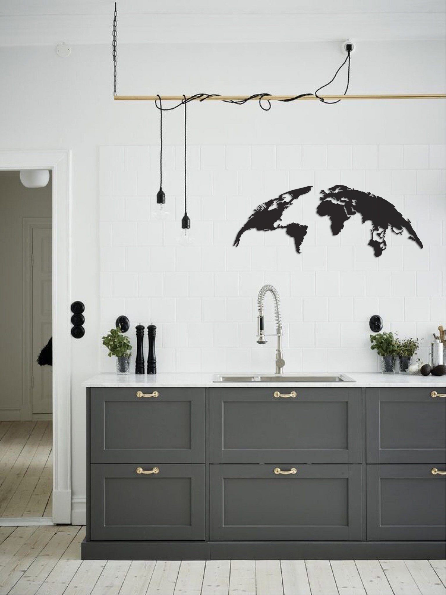 b&q kitchen lighting ideas