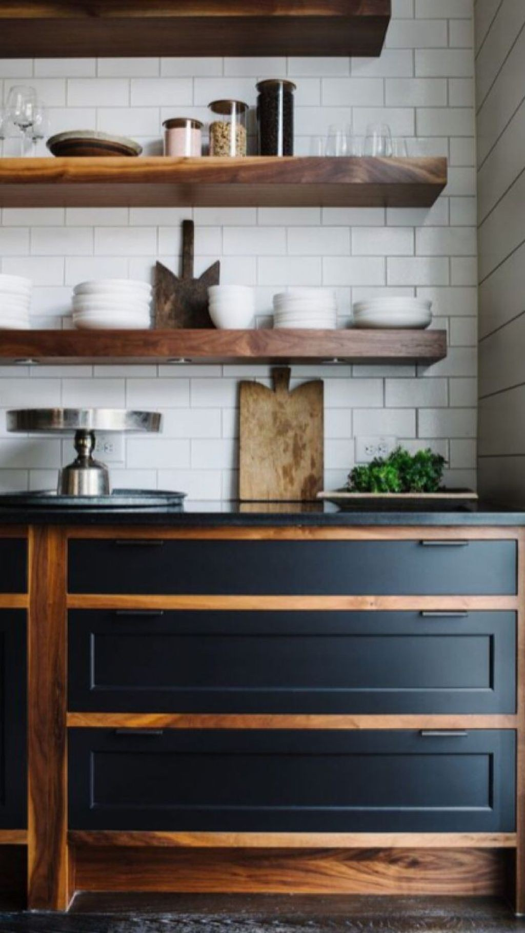 fixer upper two tone kitchen cabinets