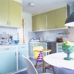 two tone kitchen cabinet designs