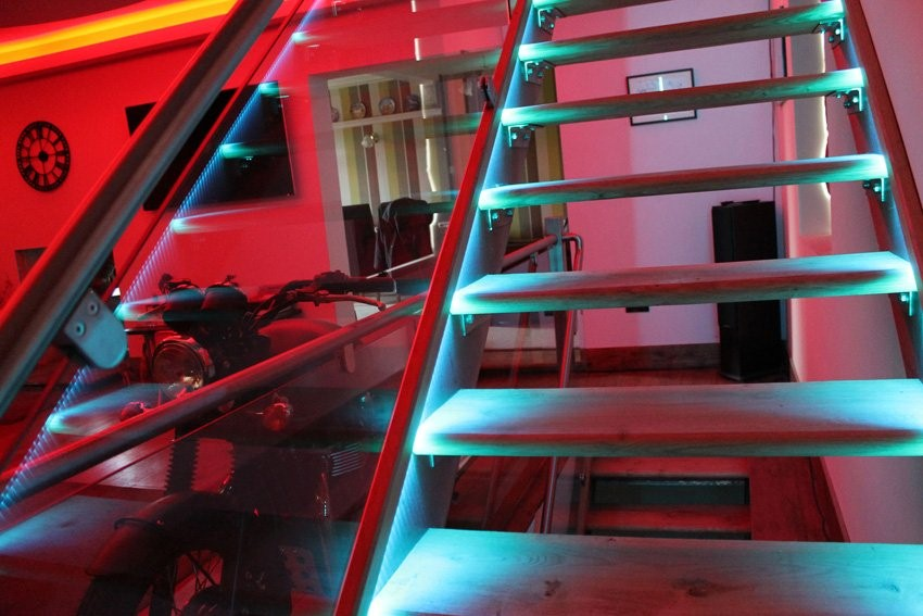 commercial stairwell lighting