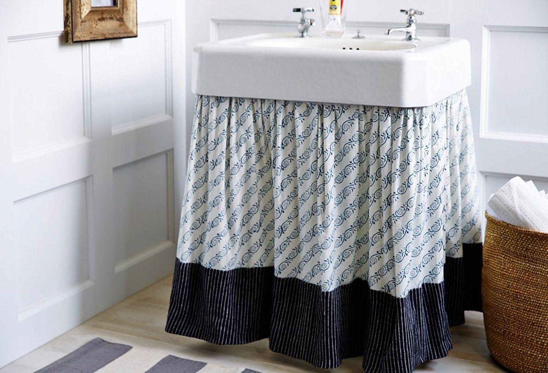 pedestal sink storage caddy