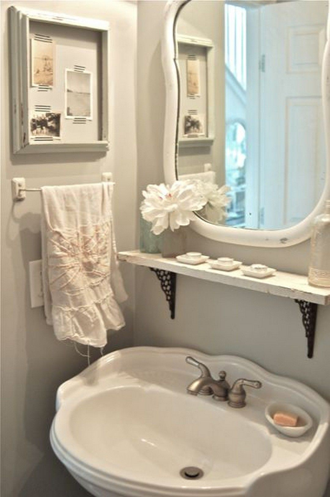 under pedestal sink storage ideas