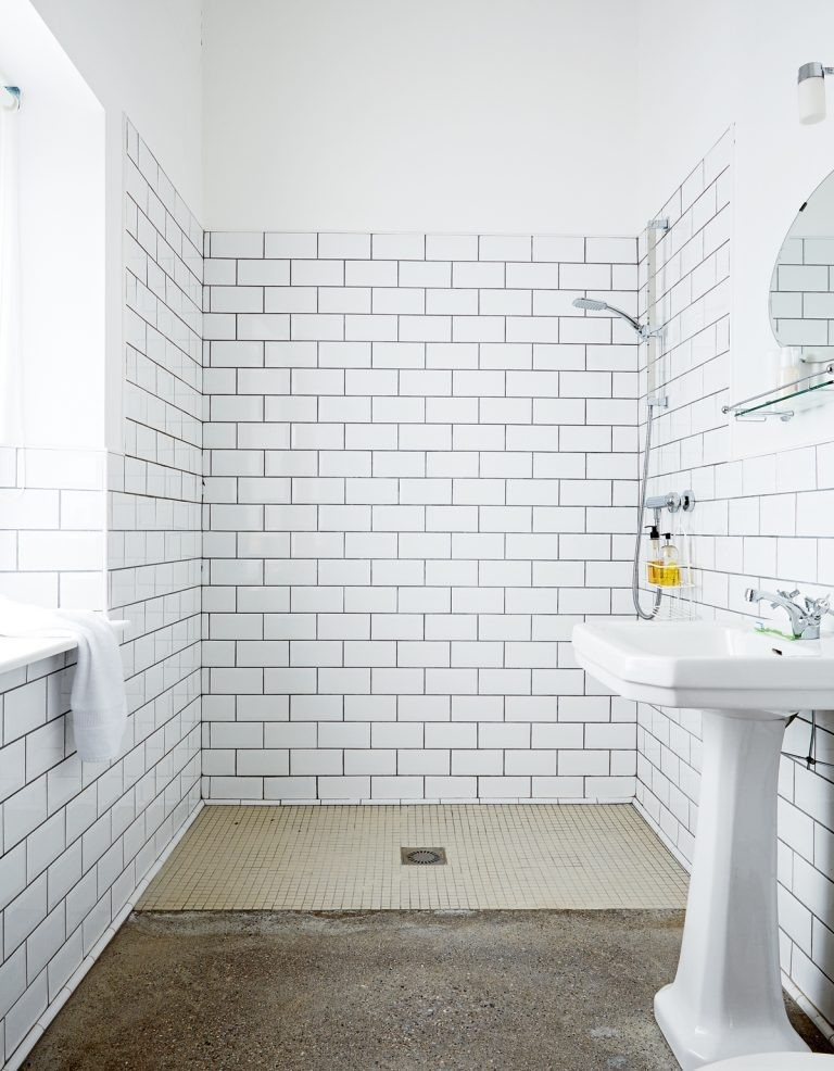 shower room for small space