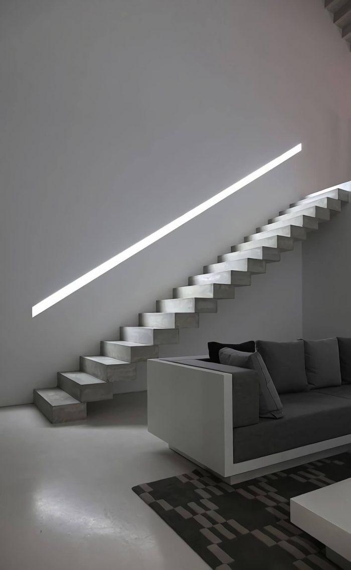 exterior stairway lighting