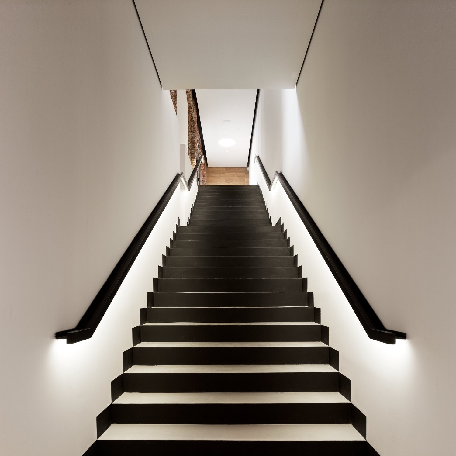 lighting a stairway