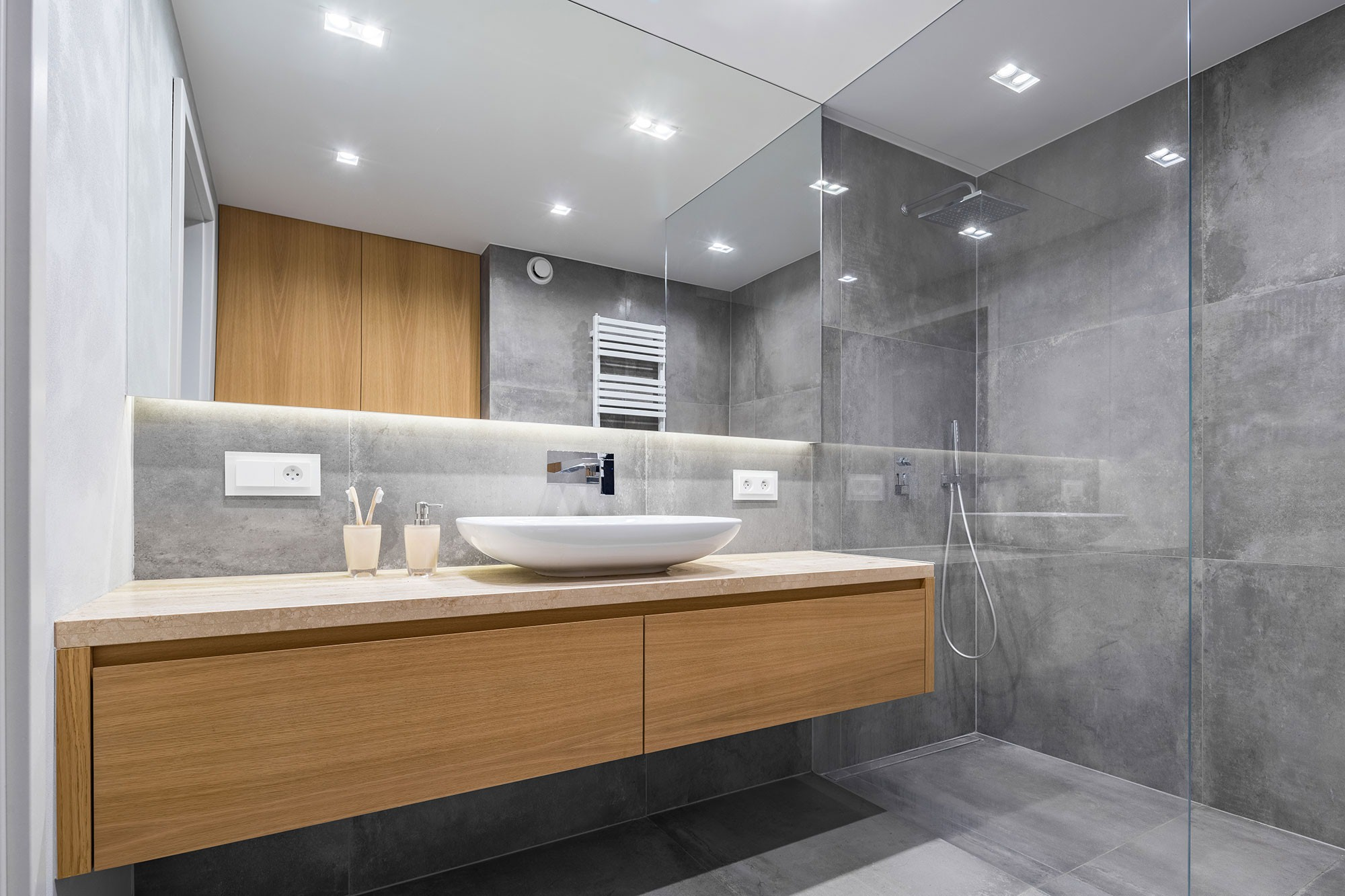9 Most Ealing Grey Bathroom Ideas