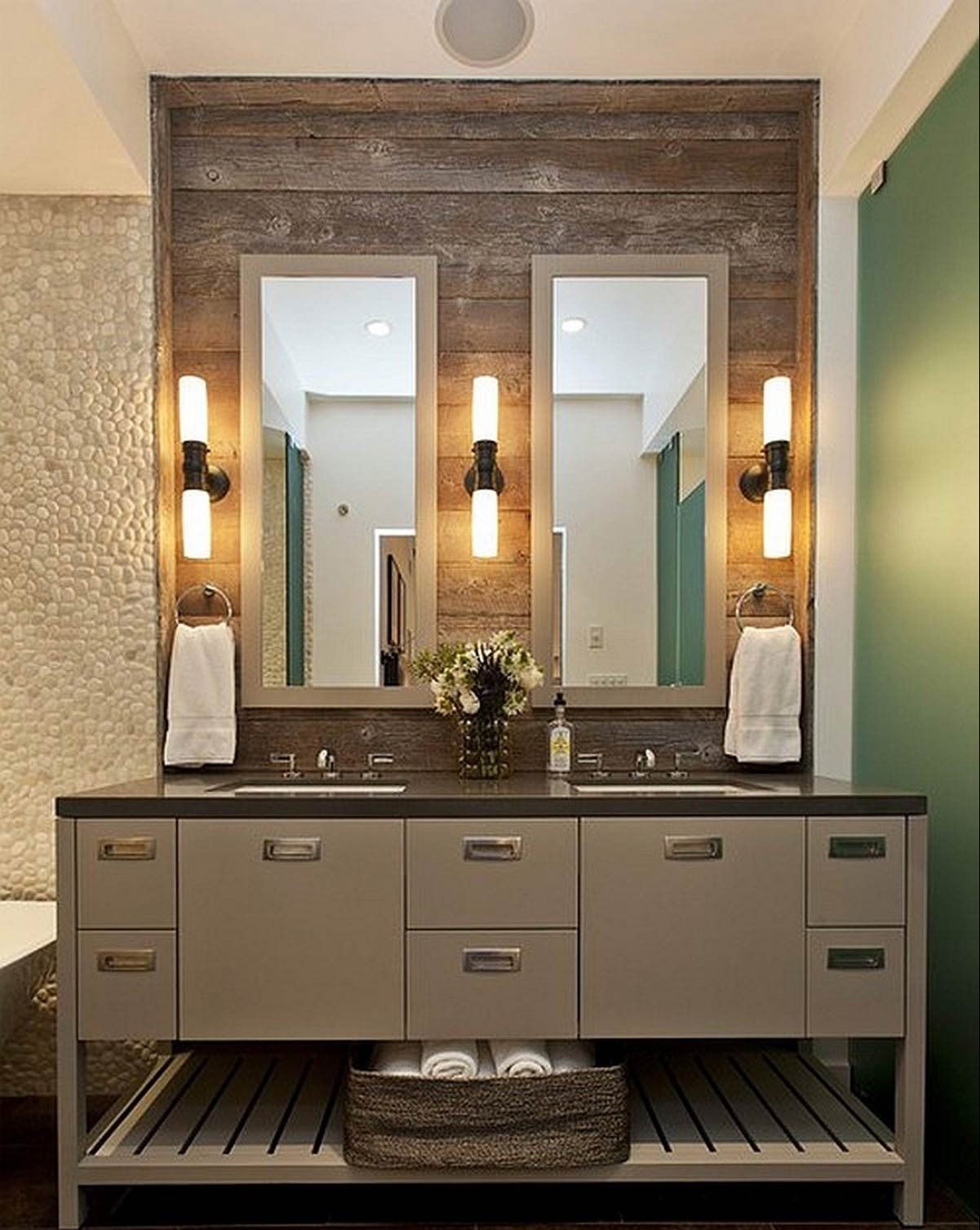 rustic bathroom vanities cheap