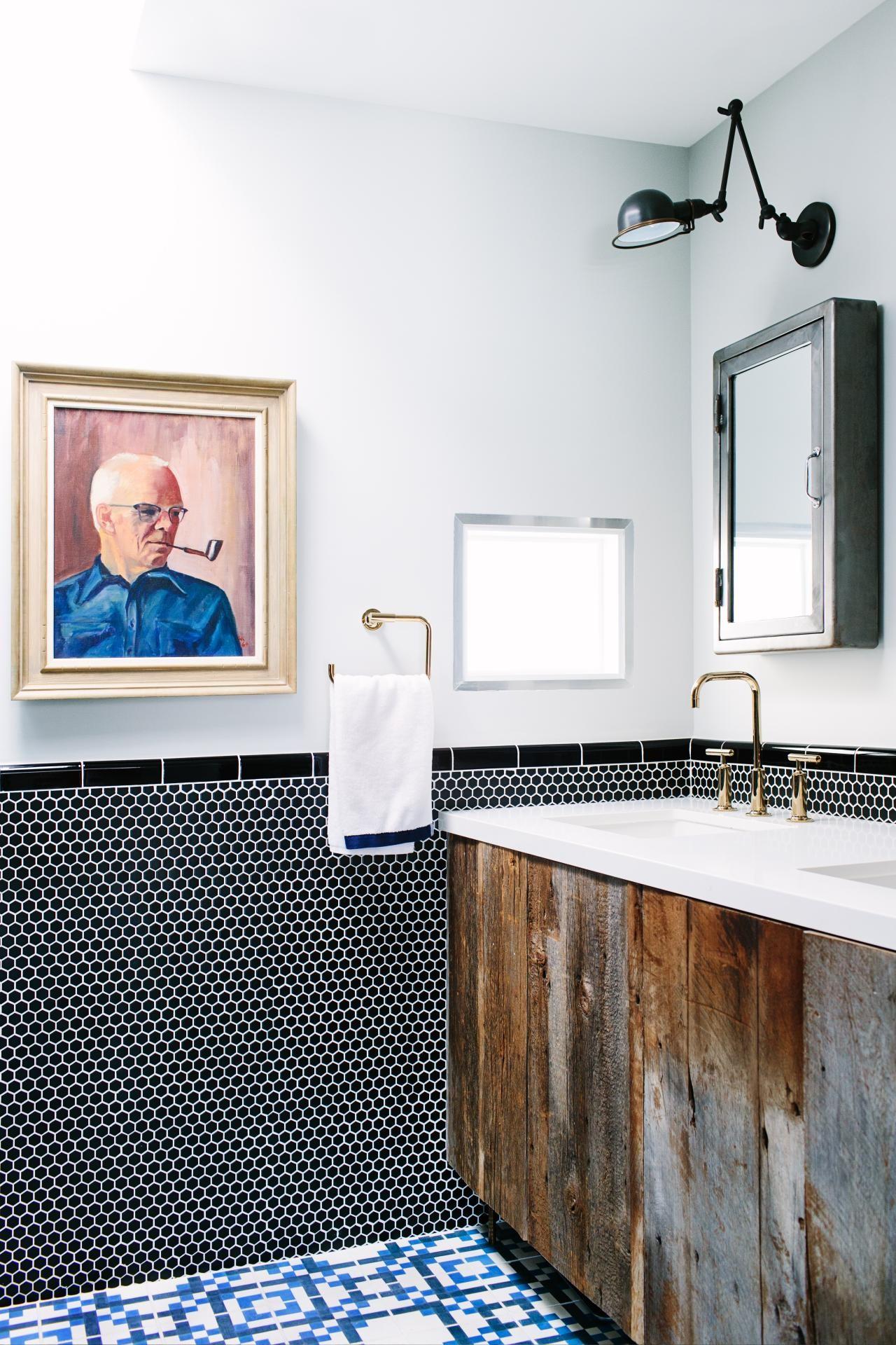 rustic bath vanity cabinet