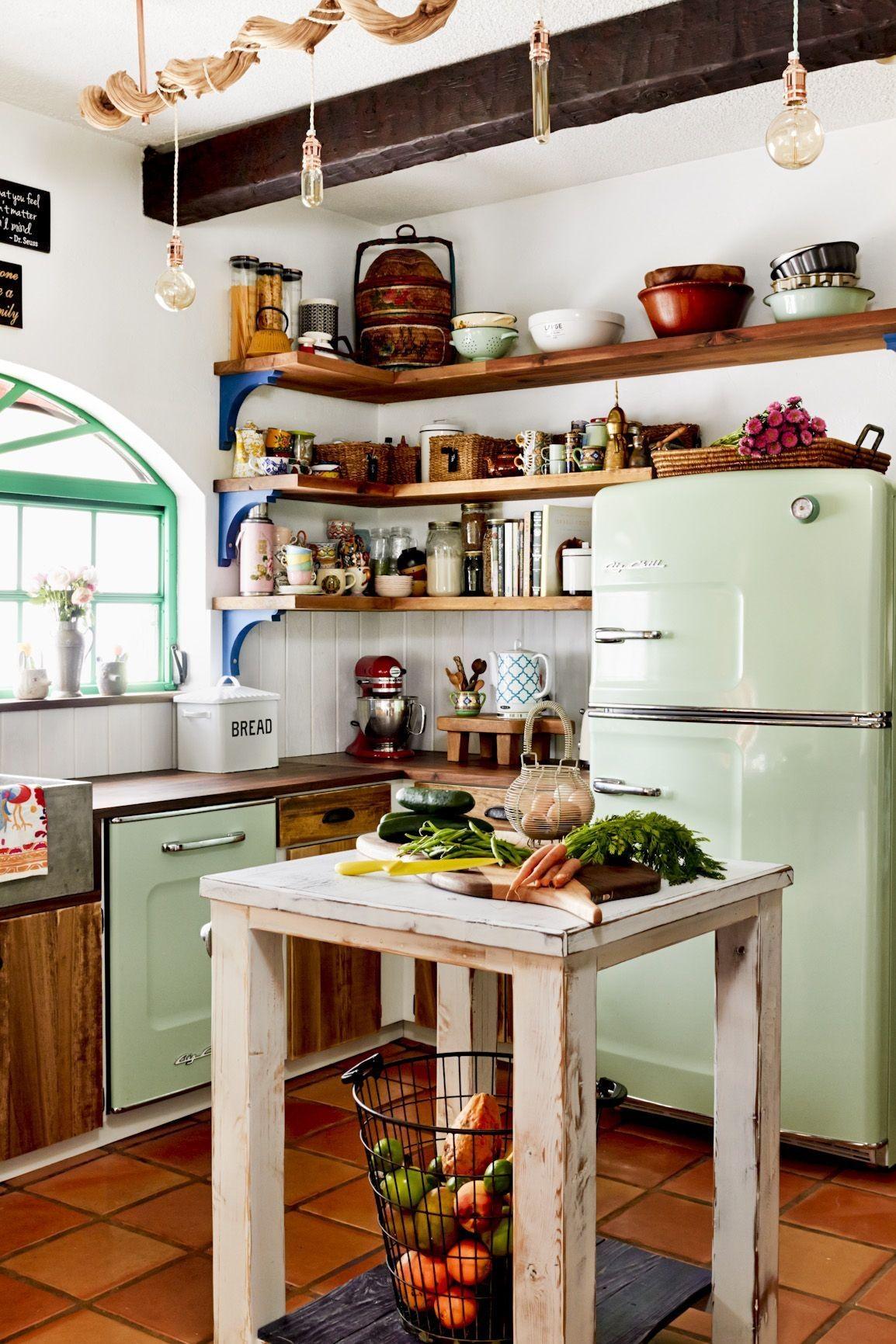 very small kitchen island