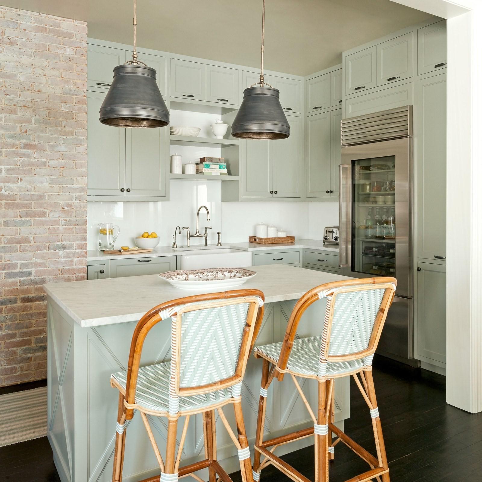small kitchen island lighting ideas