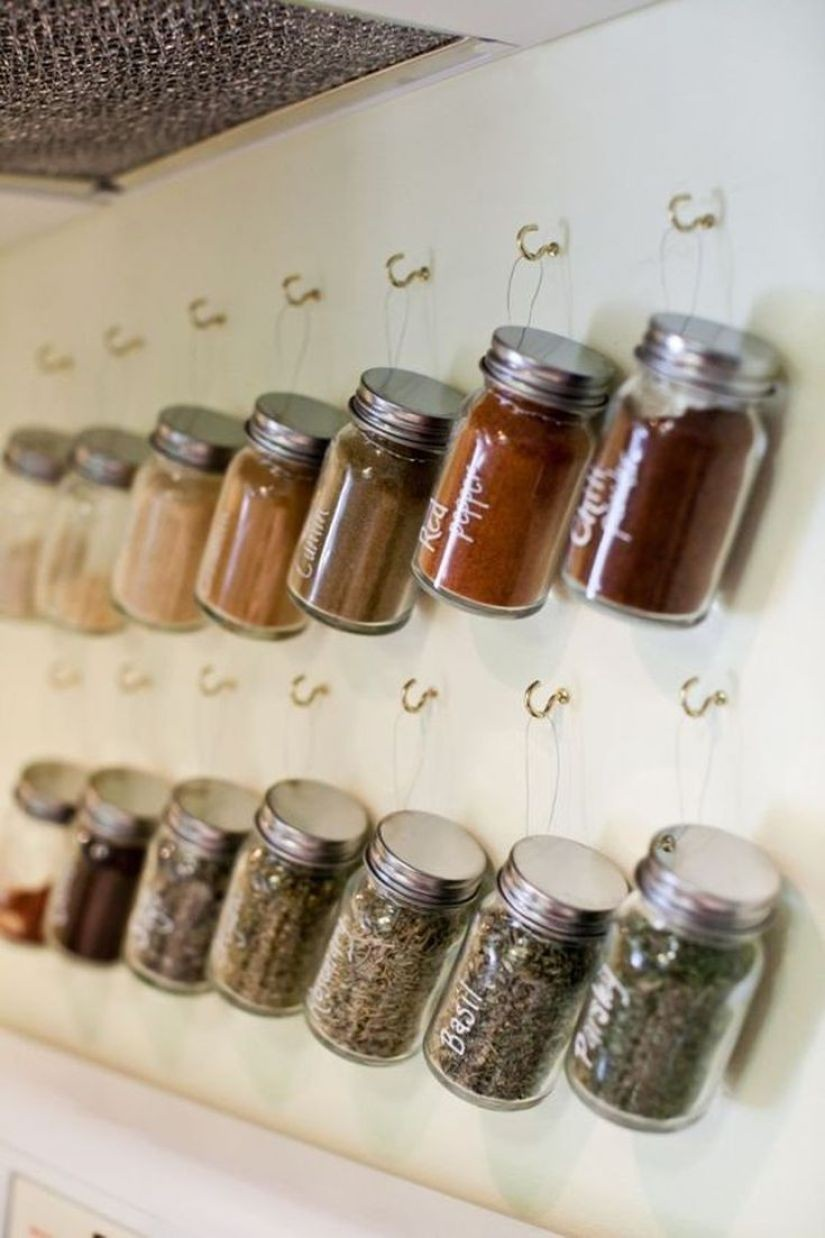 spice rack ideas for cabinet
