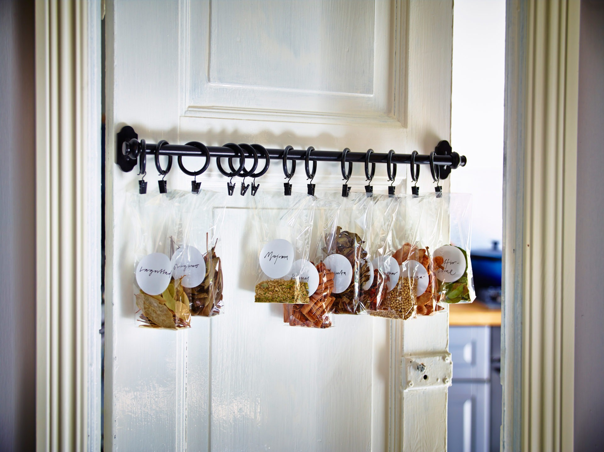 hanging spice rack ideas