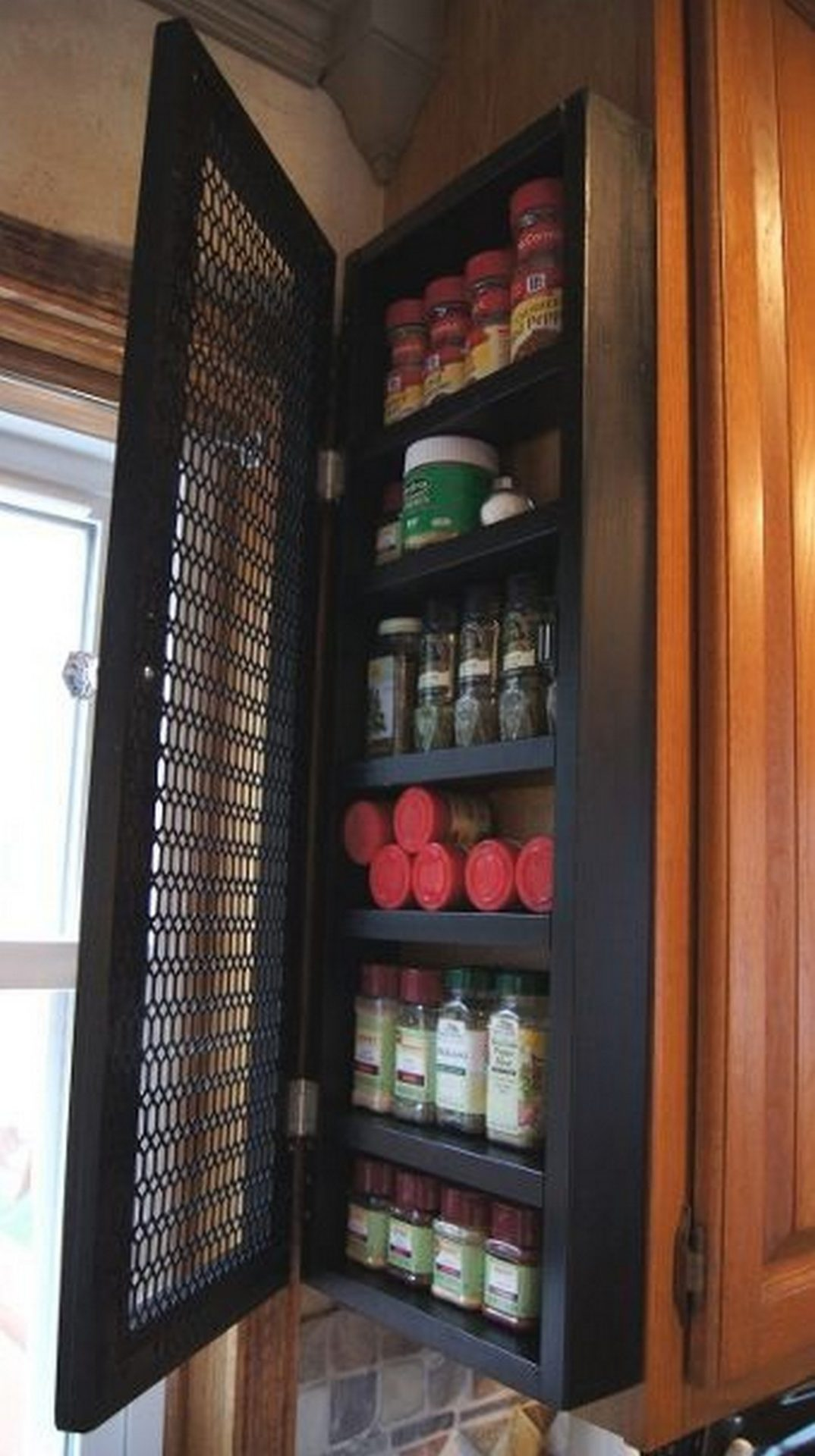 country spice rack ideas