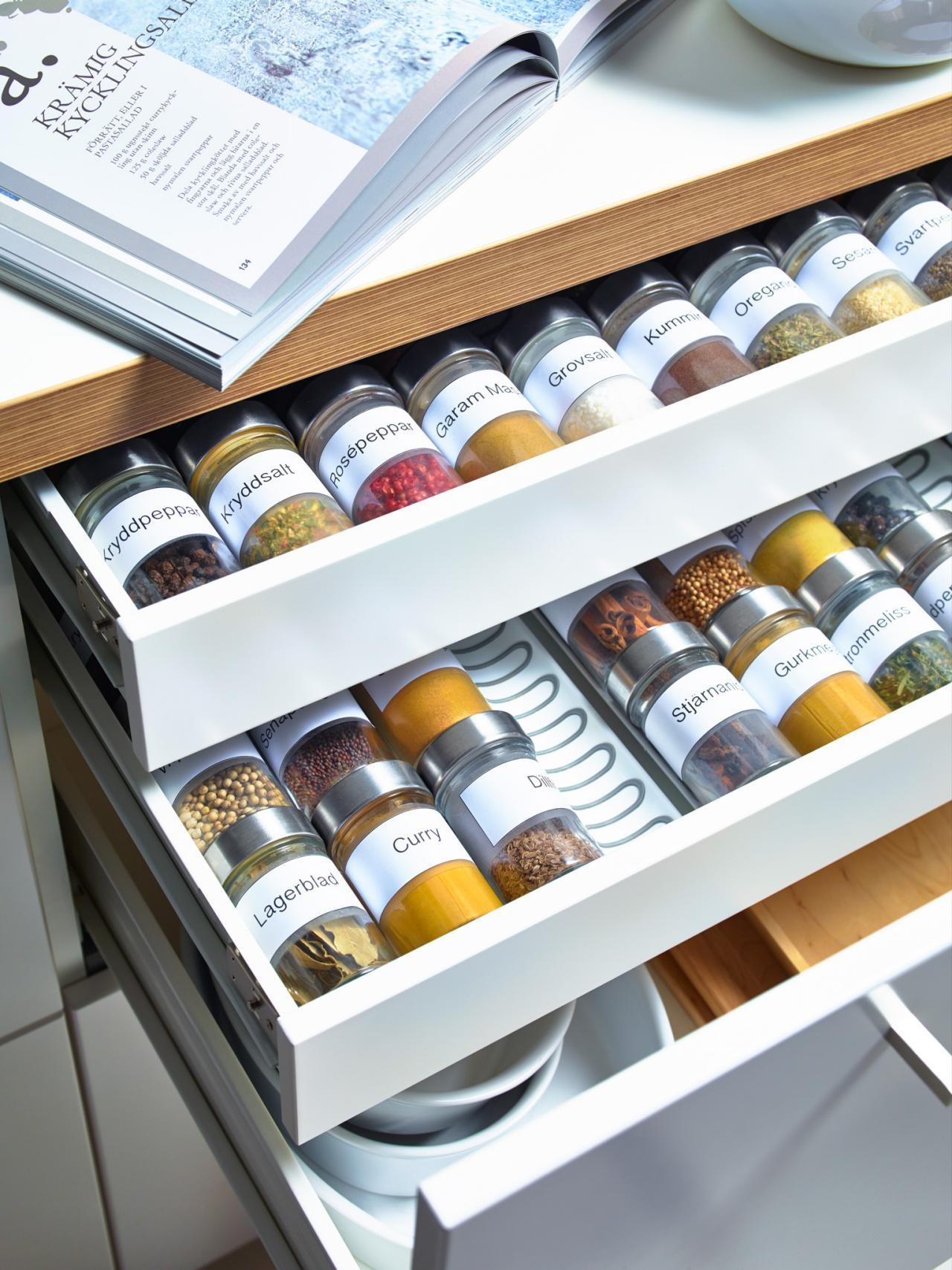 pull out spice rack design ideas